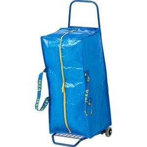 ФРАКТА Тележка с сумкой синий - Артикул: 892.264.68
