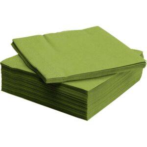 ФАНТАСТИСК Салфетка бумажная классический зеленый 40x40 см - Артикул: 403.795.99