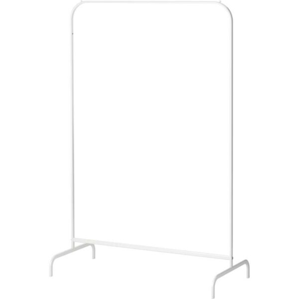 МУЛИГ Напольная вешалка белый 99x46 см - Артикул: 203.750.74