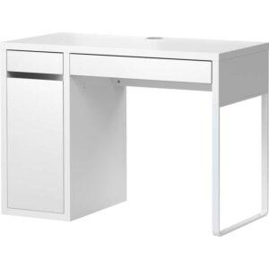 МИККЕ Письменный стол белый 105x50 см - Артикул: 003.739.19