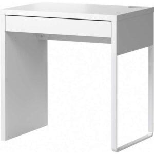 МИККЕ Письменный стол белый 73x50 см - 203.739.23