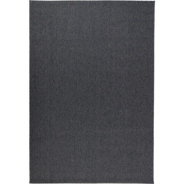 МОРУМ Ковер безворсовый д/дома/улицы темно-серый 160x230 см - Артикул: 903.708.84