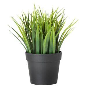 ФЕЙКА Искусственное растение в горшке, д/дома/улицы трава 9 см - Артикул: 604.339.44