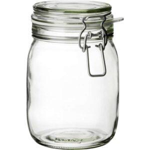 КОРКЕН Банка с крышкой прозрачное стекло 1 л - Артикул: 303.724.52