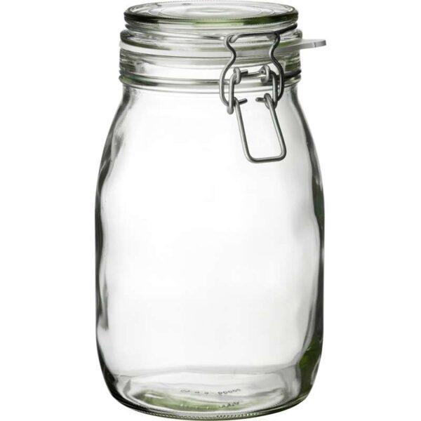 КОРКЕН Банка с крышкой прозрачное стекло 1.8 л - Артикул: 103.724.53