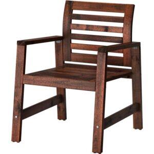 ЭПЛАРО Садовое кресло коричневая морилка - Артикул: 603.763.35
