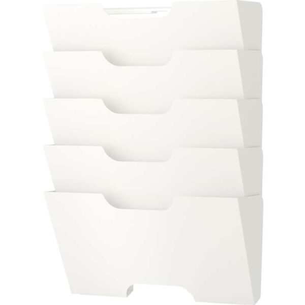 КВИССЛЕ Газетница настенная белый - Артикул: 403.764.35