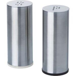 ПЛАТС Солонка/перечница 2 штуки нержавеющ сталь - Артикул: 703.724.69