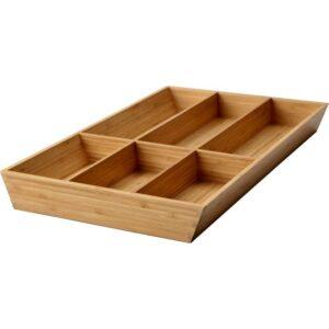 ВАРЬЕРА Лоток для столовых приборов бамбук 32x50 см - Артикул: 403.676.38