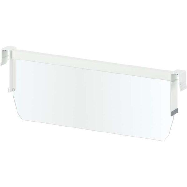 МАКСИМЕРА Разделитель д/среднего ящика белый/прозрачный 40 см - Артикул: 703.677.45
