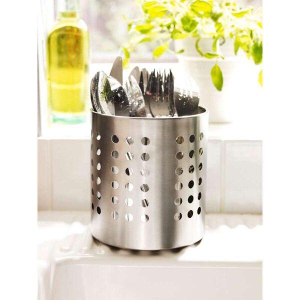 ОРДНИНГ Сушилка для стол приб нержавеющ сталь 13.5 см - Артикул: 503.731.39