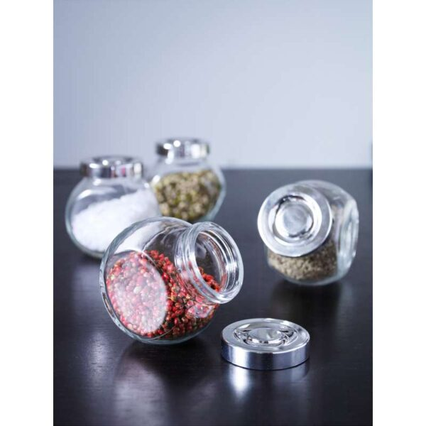РАЙТАН Банка для специй стекло/цвет алюминия 15 сл - Артикул: 303.724.71