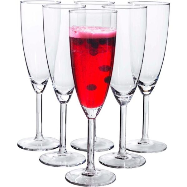 СВАЛЬК Бокал для шампанского прозрачное стекло 21 сл - Артикул: 202.194.89