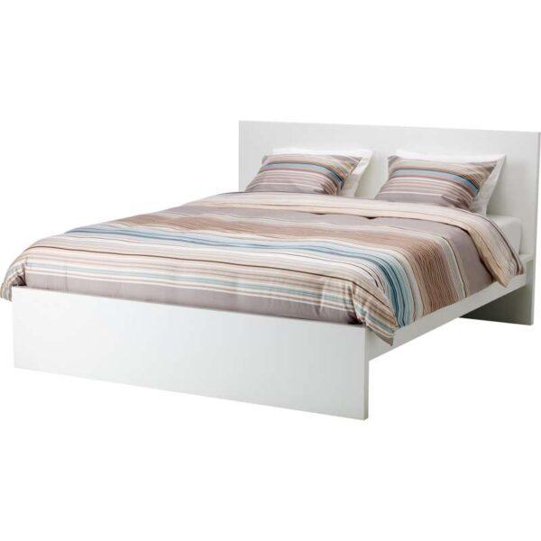МАЛЬМ Каркас кровати, высокий, белый 160x200 см. Артикул: 192.110.26