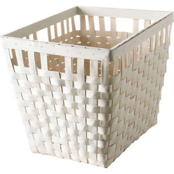 КНАРРА Корзина белый 38x29x30 см - Артикул: 503.764.30