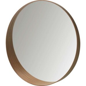СТОКГОЛЬМ Зеркало шпон грецкого ореха 80 см - Артикул: 103.692.81