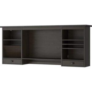ХЕМНЭС Дополнительный модуль для стола черно-коричневый 152x63 см - Артикул: 403.847.89