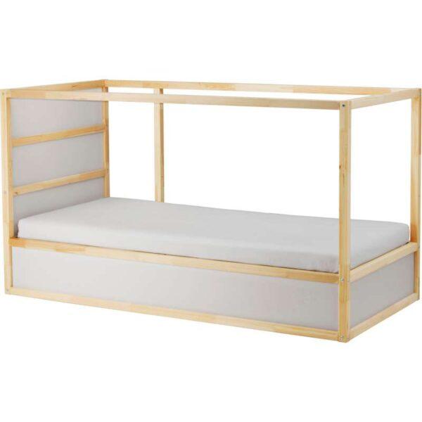 КЮРА Двусторонняя кровать, белый сосна 90x200 см. Артикул: 803.667.74