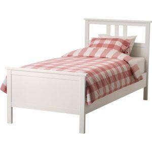 ХЕМНЭС Каркас кровати, белая морилка 90x200 см. Артикул: 103.691.39