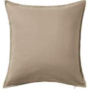 ГУРЛИ Чехол на подушку бежевый 50x50 см - Артикул: 403.703.58