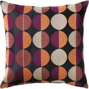 ОТТИЛЬ Чехол на подушку черный/разноцветный 50x50 см - Артикул: 703.703.66