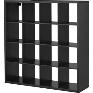 КАЛЛАКС Стеллаж черно-коричневый 147x147 см - Артикул: 103.795.67