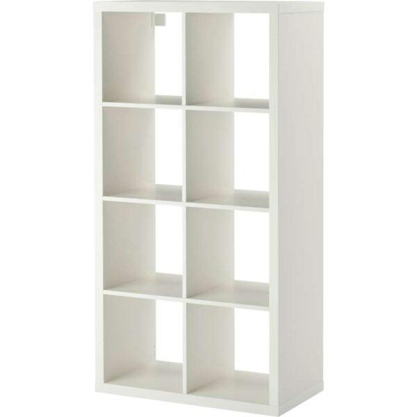 КАЛЛАКС Стеллаж белый 77x147 см - Артикул: 203.795.76