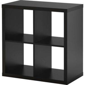 КАЛЛАКС Стеллаж черно-коричневый 77x77 см - Артикул: 803.795.78