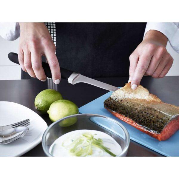 ВЁРДА Филейный нож черный 17 см - Артикул: 503.748.84