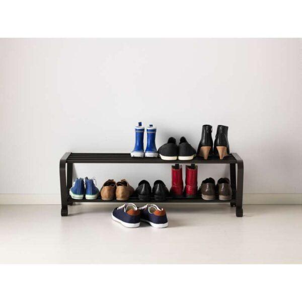 ПОРТИС Полка для обуви черный 90 см - Артикул: 803.890.49
