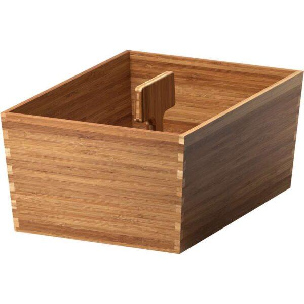 ВАРЬЕРА Ящик с ручкой бамбук 33x24 см - Артикул: 103.676.30