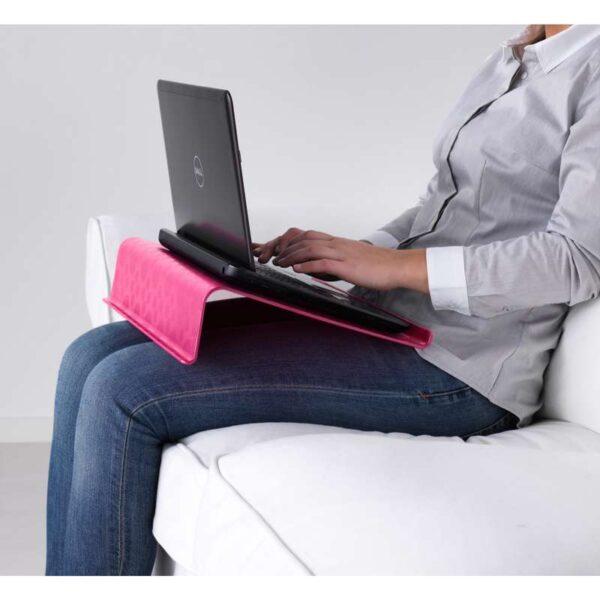 БРЭДА Подставка для ноутбука розовый 42x31 см - Артикул: 503.844.92
