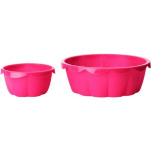 СОККЕРТАКА Форма д/выпечки 2 предм розовый - Артикул: 203.745.93
