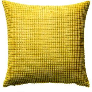 ГУЛЛЬКЛОКА Чехол на подушку желтый 50x50 см - Артикул: 503.698.49