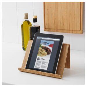 ВИВАЛЛА Подставка для планшета бамбуковый шпон 26x17 см - Артикул: 704.128.61