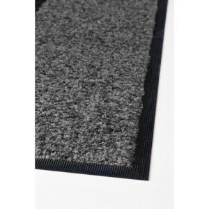 КЁГЕ Придверный коврик серый/черный 69x90 см - Артикул: 503.710.60