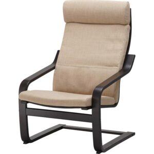 ПОЭНГ Подушка-сиденье на кресло Шифтебу бежевый - Артикул: 104.388.02