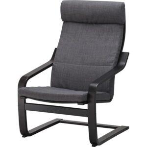 ПОЭНГ Подушка-сиденье на кресло Шифтебу темно-синий - Артикул: 704.388.04