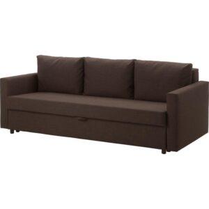 ФРИХЕТЭН 3-местный диван-кровать, Шифтебу коричневый. Артикул: 304.115.52