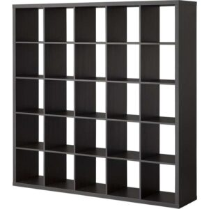 КАЛЛАКС Стеллаж черно-коричневый 182x182 см - Артикул: 503.795.70