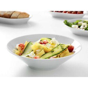 ИКЕА/365+ Глубокая тарелка/миска с прямыми стенками белый 22 см - Артикул: 603.725.73