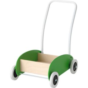 МУЛА Тележка-ходунки зеленый/береза - Артикул: 303.648.62