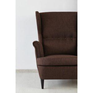 СТРАНДМОН Кресло с подголовником Шифтебу коричневый - Артикул: 904.198.85