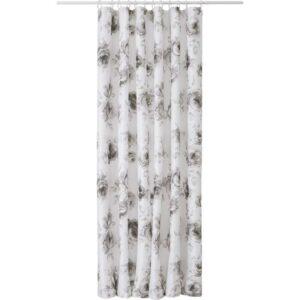 АГГЕРСУНД Штора для ванной серый/белый 180x200 см - Артикул: 703.801.72