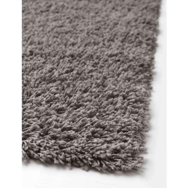 ХАМПЭН Ковер длинный ворс серый 133x195 см - Артикул: 403.708.48