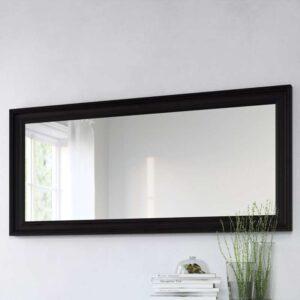 ХЕМНЭС Зеркало черно-коричневый 74x165 см - Артикул: 803.692.11