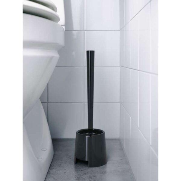 БОЛЬМЕН Щетка для туалета/держатель черный - Артикул: 703.689.76