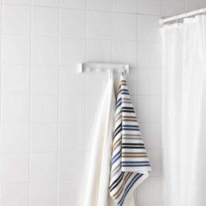 ЭНУДДЭН Вешалка для полотенец белый - Артикул: 403.689.92