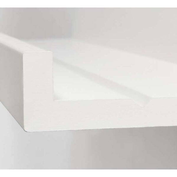 МОССЛЭНДА Полка для картин белый 55 см - Артикул: 203.718.77
