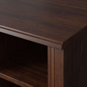 БРУСАЛИ Угловой письменный стол коричневый 120x73 см - Артикул: 703.796.68